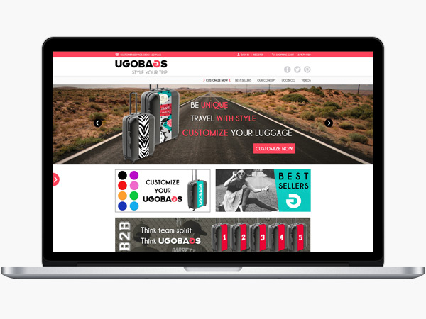 Ugobags site